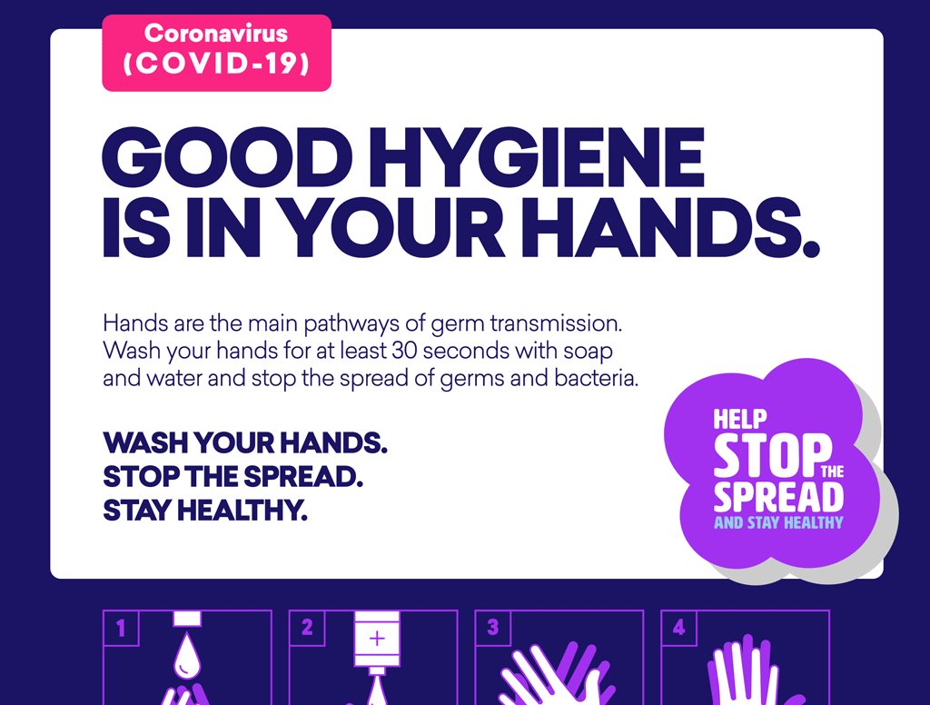 COVID-19 Hand Wash Posters & Resources